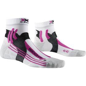 X-Socks Marathon Socken Damen arctic white/pearl grey